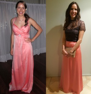 How-to-refashion-a-dress-to-a-skirt---before-and-after